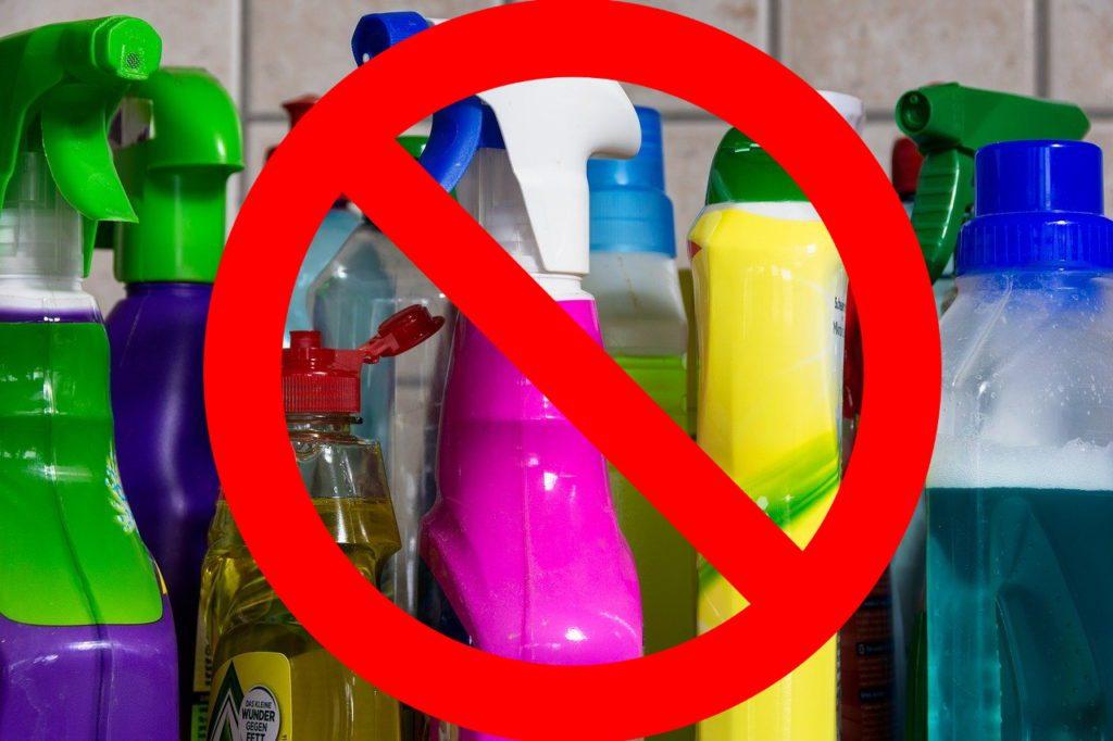 Toxine im Haushalt vermeiden